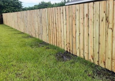 Wood Fence by Barnard Fencing Solutions