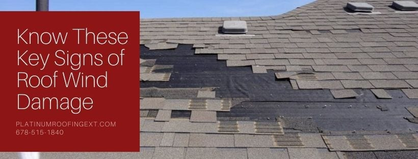 Know These Key Signs of Roof Wind Damage